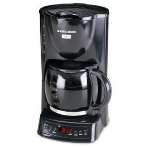 Black & Decker 10-Cup Cafe Noir Programmable Coffee Maker