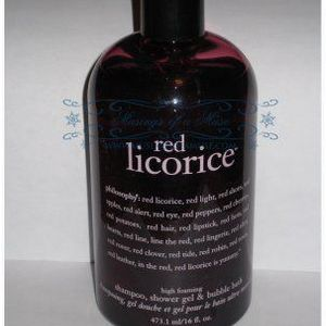 Philosophy Red Licorice 3-in-1 Shampoo, Shower Gel, and Bubble Bath