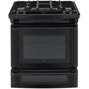electrolux stove natural gas electrolux slidein gas range ew30gs65gb ew30gs65gs reviews