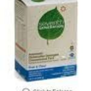 Seventh Generation Automatic Dishwasher Detergent Concentrated Pacs