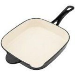 Technique Enamel Cast Iron Square Fry Pan