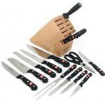 Wusthof Gourmet 18-Piece Knife Set with Block