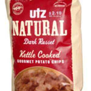 Utz  - Natural Dark Russet Kettle Cooked Gourmet Potato Chips