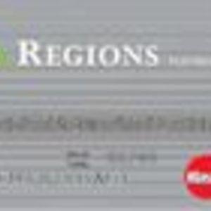 Regions Bank - Platinum Plus MasterCard with WorldPoints Rewards