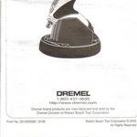 Dremel Stylus Cordless Rotory Tool /Model 1100