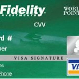FIA Card Services - Fidelity Worldpoints Visa Card
