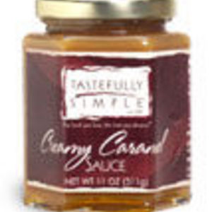 Tastefully Simple Creamy Caramel Sauce