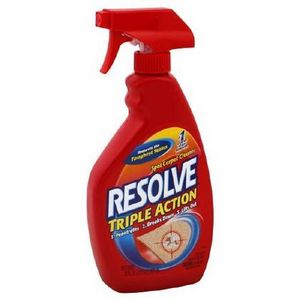 Resolve Triple Action Carpet Cleaner