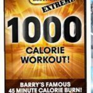 Barry's Bootcamp 1,000 Calorie Workout