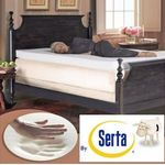 Serta Rejuvenator 4-inch Memory Foam Mattress Topper