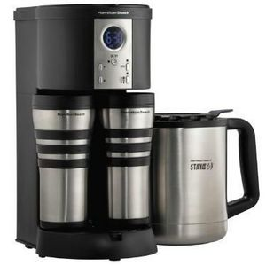 Hamilton Beach Stay-or-Go 10-Cup Thermal Coffee Maker