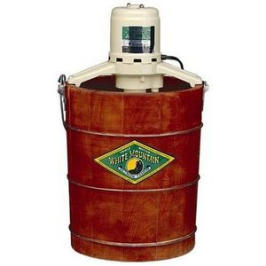 White Mountain 6-Quart Electric Ice Cream Maker