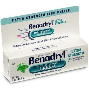 Benadryl Extra Strength Itch Stopping Cream Reviews