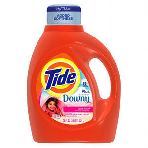 Tide With A Touch Of Downy Liquid Laundry Detergent April Fresh