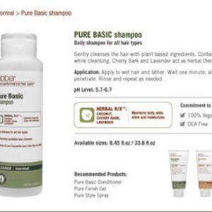 abba pure basic shampoo reviews. Black Bedroom Furniture Sets. Home Design Ideas