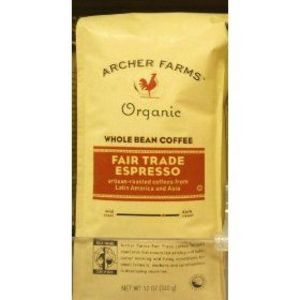 Archer Farms Organic Whole Bean Coffee Fair Trade Espresso