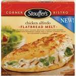 Stouffer's Corner Bistro Chicken Alfredo Flatbread Melt