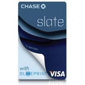 Chase - Slate Visa Card