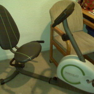 Weslo Recumbent Bike
