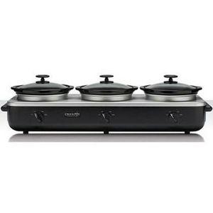 Crock-Pot Trio Cook & Serve Slow Cooker