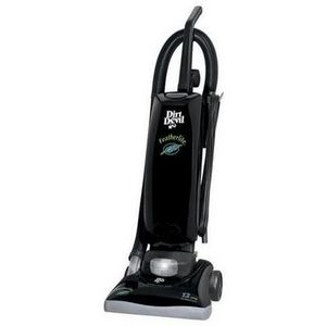 The Dirt Devil Featherlite Bagged Upright Vacuum is lightweight & easy to push & carry from room to room or up & down stairs. Perfect for hard floors & carpet. Dirt Devil.