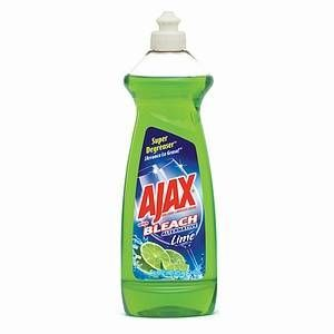 Ajax Dish Liquid with Bleach Alternative, Lime