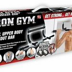 Iron Gym Doorway Chin & Pull-Up Bar