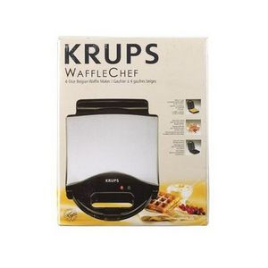 Krups WaffleChef Belgian Waffle Iron