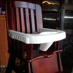 Eddie Bauer High Chair wood highchair
