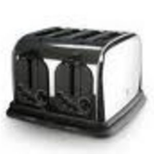 GE 4-Slice Stainless Toaster