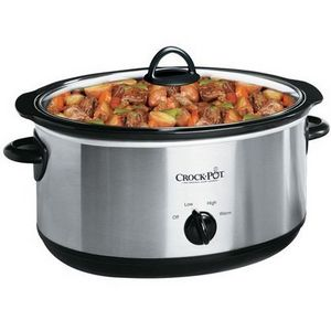 Crock-Pot 7-Quart Oval Slow Cooker