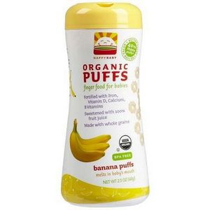 Happy Baby Organic Banana Puffs