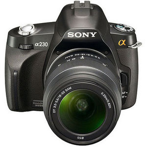 Sony - Alpha DSLR-A230L with 18-55mm lens Digital Camera