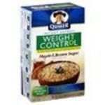 Quaker Instant Oatmeal Weight Control Maple & Brown Sugar