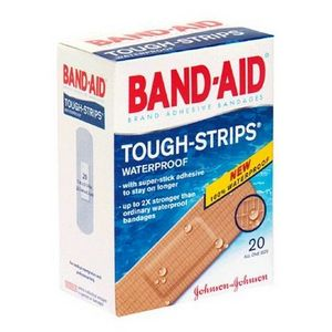 Band-Aid Tough-Strips Waterproof