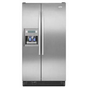 whirlpool gold series refrigerator. whirlpool gold side-by-side refrigerator gd5dhaxv series a