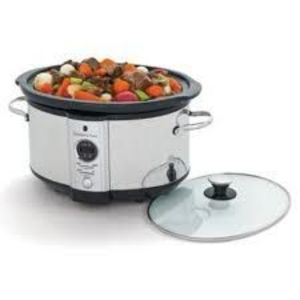 Wolfgang Puck 7-Quart Stainless Steel Slow Cooker