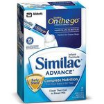 Similac Advance On-the-Go Baby Formula Single-Serve Packets