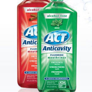 ACT Anticavity Fluoride Mint Rinse