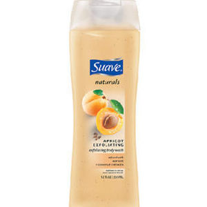 Suave Naturals Apricot Exfoliating Wash