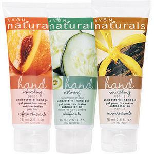 Avon Naturals Nourishing Antibacterial Hand Gel