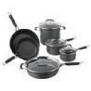 Calphalon 8-Piece Kitchen Essentials Hard-Anodized Cookware