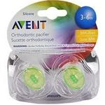 Phililps Avent Silicone Orthodontic Pacifier