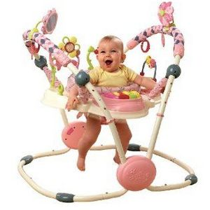 Bright Starts Pretty in Pink Activity Jumper