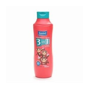 Suave Kids Wacky Melon 3 in 1 Shampoo, Conditioner & Body Wash