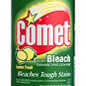 Comet Scratch Free Lemon Fresh with Bleach Disinfectant Cleanser