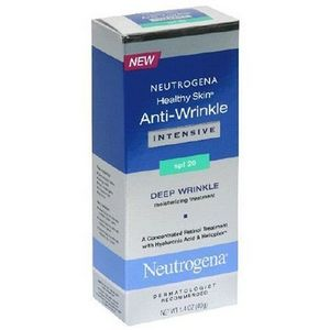 Neutrogena Healthy Skin Anti-Wrinkle Cream SPF 20 Deep Wrinkle Moisturizing Treatment