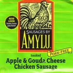 Amylu Smoked Apple & Gouda Cheese Chicken Sausage
