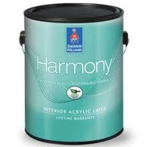 Sherwin-Williams Harmony 0 VOC Interior Acrylic Latex Paint