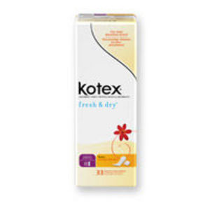 Kotex Fresh & Dry Absorbent Liners